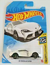 Hot Wheels '20 Toyota GR Supra White #178 178/250 2021 HW Speed Graphics 5/10