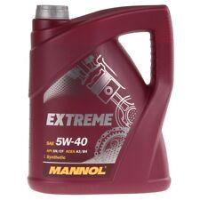 MANNOL 5W-40 Motoröl 5 Liter Universal Extreme Leichtlauf Synthetic Öl API SN CF