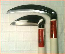 Japanese Garden Bonsai 2 Sickle Knifes Straight + Curved + Multi-Purpose Saw