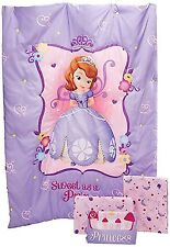 Disney 4 Piece Set Bedspread Sofia The First Toddler Sweet As Princess Mattress
