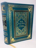 RARE Leather IRISH FAIRY TALES Illustrator Arthur Rackham Press