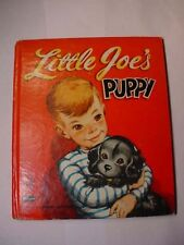 LITTLE JOE'S PUPPY ~ Vintage 1957 Whitman Tell-A-Tale Book~illustrated