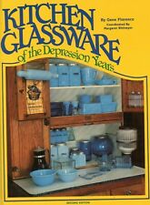 Kitchen Depression Glassware - Makers Forms Colors.../ Illustrated Book + Values