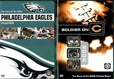 NFL Team Highlights 2003 Eagles & 2002 Bears - 2 DVDs