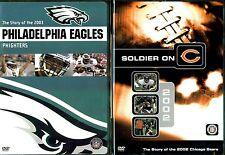 NFL Team Highlights 2003 Eagles & 2002 Bears - 2 DVDs
