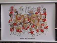 Griffin - Old Trafford Heroes   49cm X 71cm  Manchester Utd  Poster