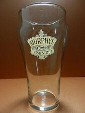 Murphy's Irish Stout Pint Beer Glass Cork Ireland