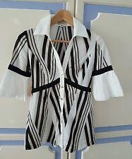 Gorgeous Karen Millen 100% Cotton Shirt, size UK8 - VGC