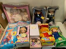 Lot Of Vintage Dolls Still In Boxes New Madeline Little Sport Bear Hop Along Kat