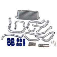 FMIC Intercooler + Air Intake Piping Kit For Mit. 3000GT VR-4 VR4 Dodge Stealth