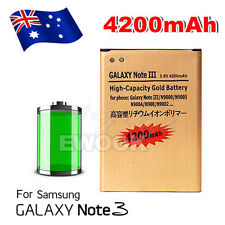 4200mAh High Capacity Gold Battery For Samsung Galaxy Note 3 III N9000 N9005