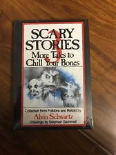 Scary Stories to Tell in the Dark SET of 3 books by Alvin Schwartz, NEW