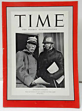 April 29 1940 TIME Magazine-Sweden's Dynasty on Cover- News/Photos/Ads