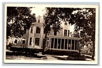 Vintage Early 1900's RPPC Postcard Residential Home Humphrey Nebraska POSTED