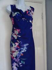 STUNNING  LADIES   LIPSY   SUMMER  FLATTERING SHIFT PENCIL  DRESS   SIZE  18