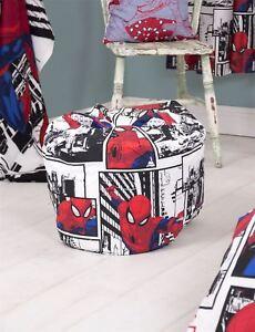 Ultimate Spiderman 'Metropolis' Bean Bag 3ft Bean Bag Filled Chair Seat Bedroom