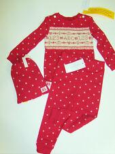 NWT Baby Girl Polo Ralph Lauren Sampler ABC's Pajama Set Embroidered 18M Cotton