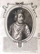 Pépin le Bref Roi de France par Nicolas II de Larmessin C 1686 France