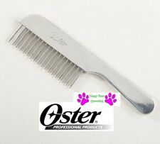 Oster Aluminum Steel COARSE UTILITY COMB with HANDLE PET DOG CAT Hair Grooming