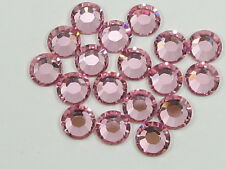 30ss LT ROSE  HOT FIX swarovski rhinestones  18pcs