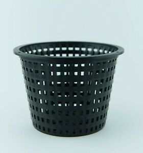 Basket Mesh  Net Plant Pots 140 mm - Pack of 15 - Hydroponics, Orchids & more