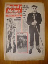 MELODY MAKER 1977 NOV 19 IAN DURY TUBES MCCARTNEY WINGS