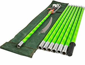 26 Feet Tree Pole Pruner Tree Saw 8M Home Garden Yard Gardening Scissors Manual