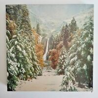 Vintage Yosemite Valley Falls 1849 Winter Mountains Scene Jigsaw Puzzle 500 pc