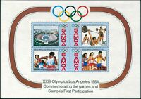 Samoa 1984 SG682 Olympics MS MNH
