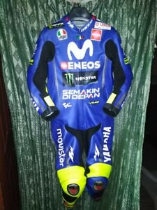 Yamaha Moto gp 2018 Motorbike Leather Racing Suit CE Approved