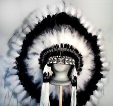 Native American Cloud Chaser Feather Headdress War Bonnet