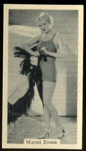 Tobacco Card, Murray Sons, BATHING BELLES, 1939, Muriel Evans, #7