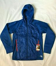 NEW The North Face MENS SM/MED Vaporous Athletic Workout Jacket - Blue - NWT