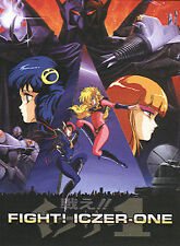 Fight! Iczer-One - Complete OVA Series - Brand New Rare, Out Of Print Anime DVD
