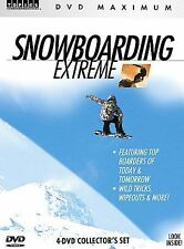 Snowboarding Extreme (DVD, 2006, 4-Disc Set) BRAND NEW FACTORY SEALED