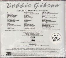debbie gibson limited edition cd new