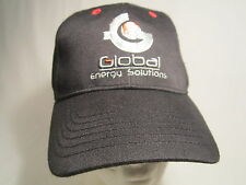 Men's Cap GLOBAL ENERGY SOLUTIONS Size: Adjustable [Z164b]
