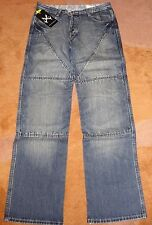 Hornee Jeans Burnt Blue SA-M4 Motorcycle Jeans Size 38