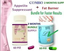 Plus & Meizi Plus Advance Compo Faster Diet Weight Loss Capsules 2 Months