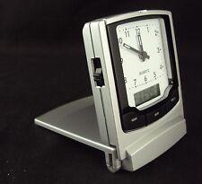 Travel Alarm Clock CL-174 ~ w/Dual Display (Analog/Digital) ~ FREE SHIPPING!