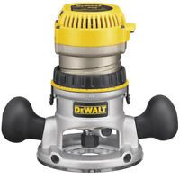 DEWALT 2-1/4 HP EVS Fixed Base Router DW618 New