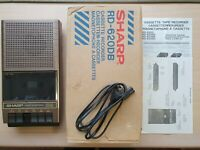 Kassettenrekorder SHARP RD-620DB, Cassette Recorder, Tape Recorder #606