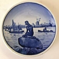Royal Copenhagen Mini Plate Langelinie Little Mermaid #2 / 2010
