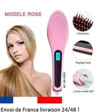 LCD BROSSE LISSANTE  Fer à Lisser Peigne Chauffant Cheveux Defriser defrisage