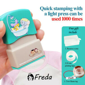 Kids' Custom waterproof Name seal Stamp for Clothing Name Seal stamp for Uniform