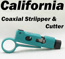 Coaxial Cable Wire Stripper Amp Cutter Wire Stripping Rg59 Rg6 Catv Rotary Tool