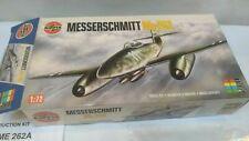 Vintage AIRFIX Messerschmitt Me 262 Fighter German Aircraft Airplane Model Kit