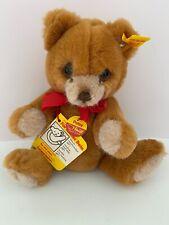 Steiff Teddy Petsy, Rust, # 0230/20, 7 Inch
