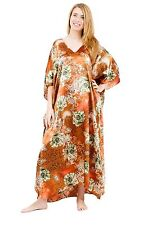 Up2date Fashion's Rustic Rose Printed Caftan, Style Caf-81