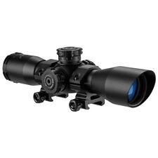 Barska 4x 32 Contour Riflescope Mil Dot IR Picatinny Weaver Style Rings AC11876